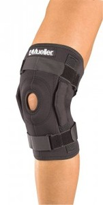 3333 Mueller Hinged Wraparound Knee Brace, бандаж-стабилизатор на колено шарнирный