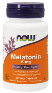 Melatonin 5mg  60капс. / Now Foods USA