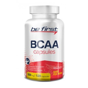Be First BCAA Capsules 120 капс.