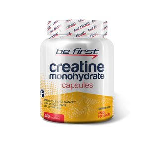 Be First Creatine Monohydrate Capsules 350 грамм
