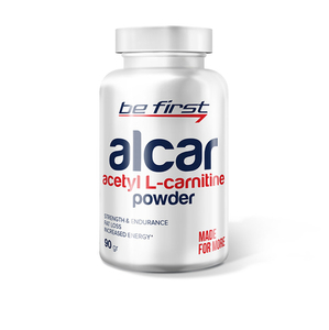 Be First Alcar(Acetyl L-carnitine) powder 90 гр.