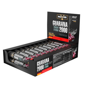 Maxler Guarana Energy Strom 2000, 25 х 20 ампул.