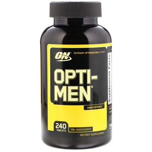 Opti Men 240 таб / Optimum Nutrition USA