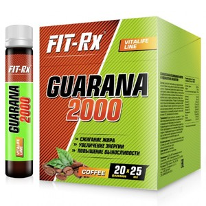 FIT RX Guarana 2000 20х25 мл